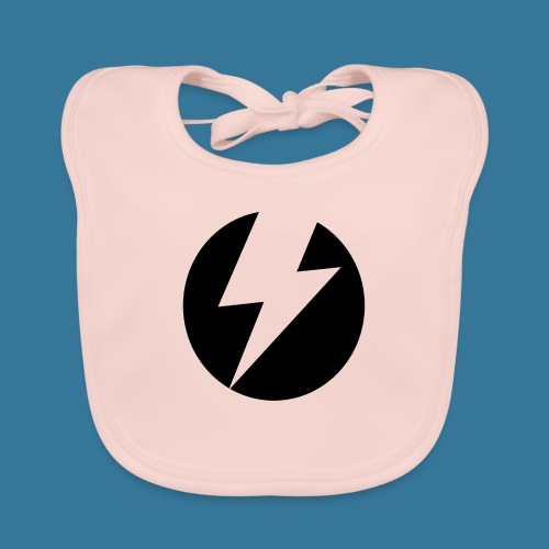 BlueSparks - Inverted - Baby Organic Bib