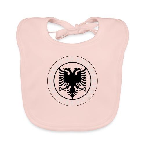 Schweiz Albanien - Baby Bio-Lätzchen