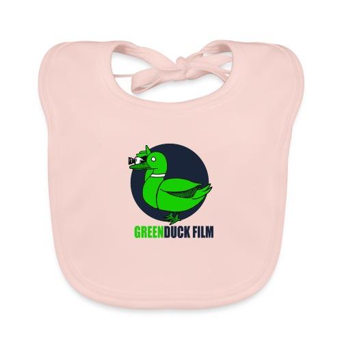 Greenduck Film Dark Blue Logo - Hagesmække af økologisk bomuld