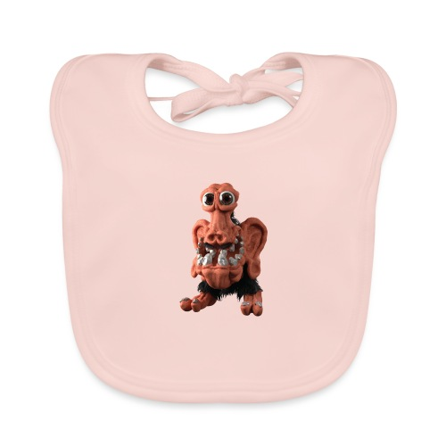 Very positive monster - Baby Organic Bib