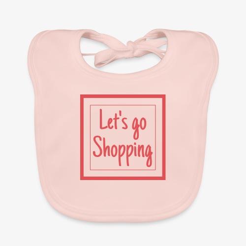 Let's go shopping - Bavaglino ecologico per neonato