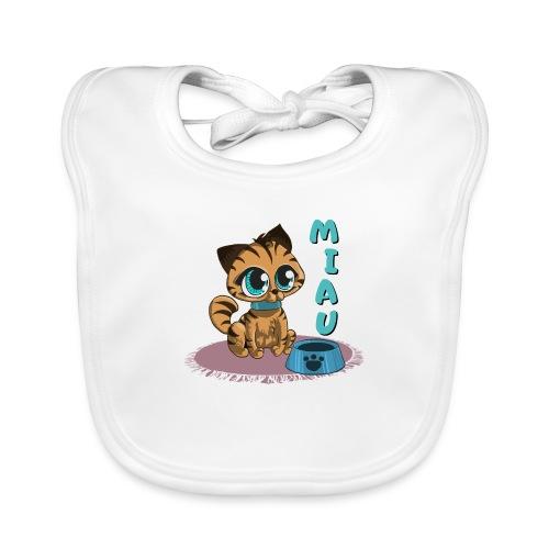 Miau - Baby Bio-Lätzchen