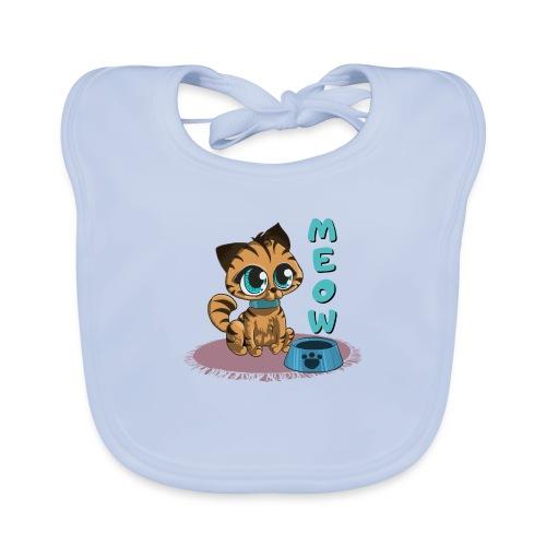 Meow - Baby Bio-Lätzchen