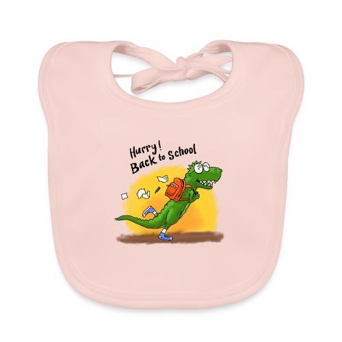 Dino hurry! back to school - Bio-slabbetje voor baby's