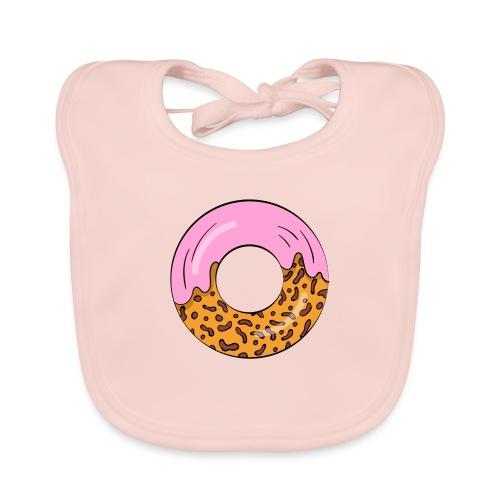 strawberry doughnut cartoon - Baby Bio-Lätzchen