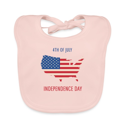 Independence Day - Babero ecológico bebé