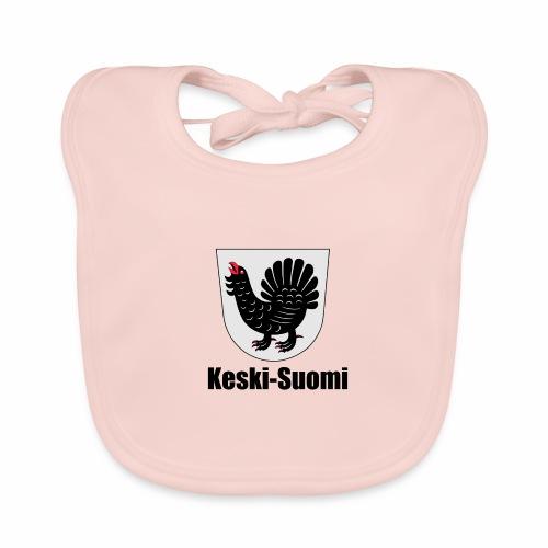 Keski-Suomi vaakuna tuote - Vauvan luomuruokalappu