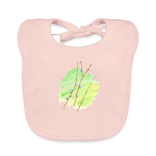 Weidenkätzchen - Baby Bio-Lätzchen
