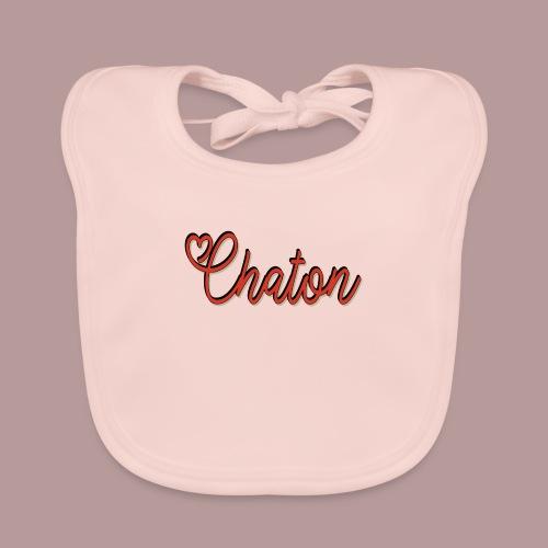 Chaton - Bavoir bio Bébé
