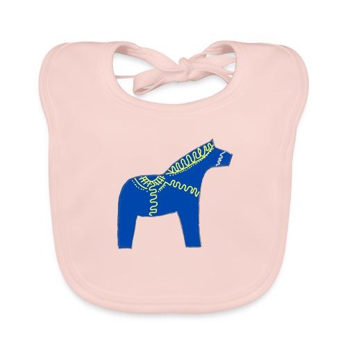 Dala by Pinni Art® blue - Baby Bio-Lätzchen