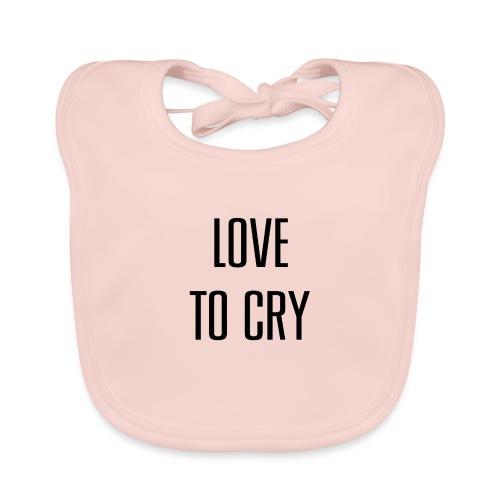 love to cry - Bavoir bio Bébé