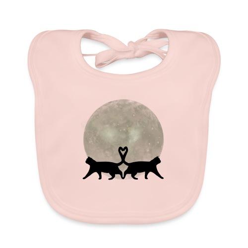 Cats in the moonlight - Bio-slabbetje voor baby's