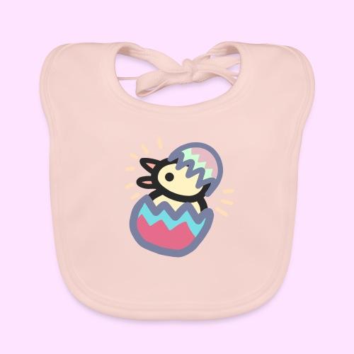 Easter Pinkguin (Yellowguin?) - Hagesmække af økologisk bomuld