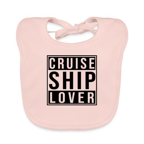 Kreuzfluenzer - Cruise Ship Lover - Baby Bio-Lätzchen