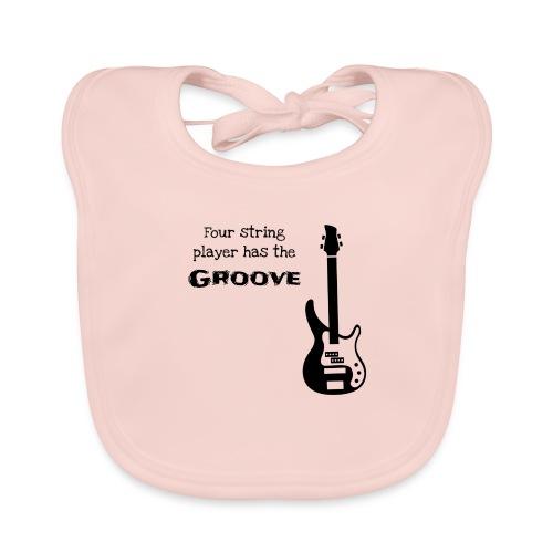 Bass guitar - Bavaglino ecologico per neonato