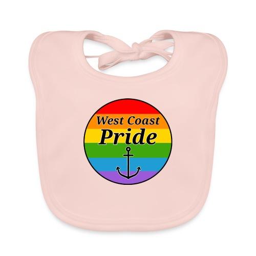 rainbow pride flag - Hagesmække af økologisk bomuld