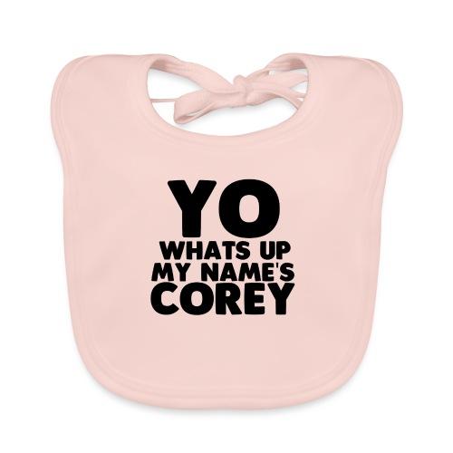 Yo Corey Shirt - Organic Baby Bibs