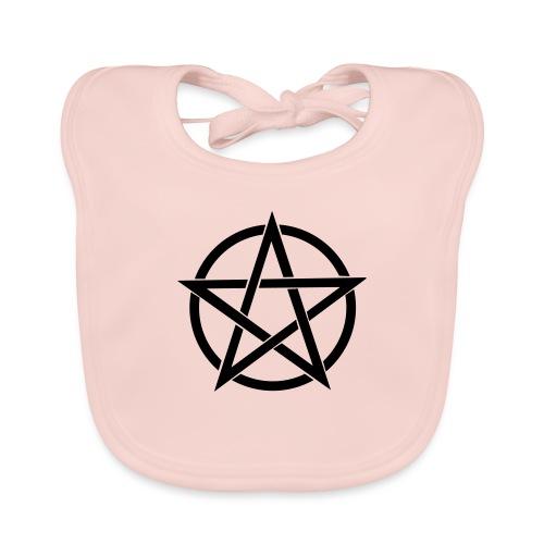 Pentagramme Wicca - Bavoir bio Bébé