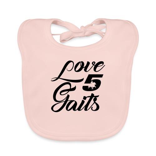 Love 5Gaits - Baby Organic Bib