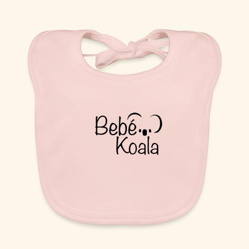Bebé Koala - Babero de algodón orgánico para bebés