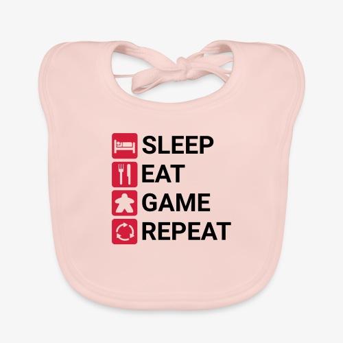 Sleep, eat, game, repeat - Økologisk babysmekke