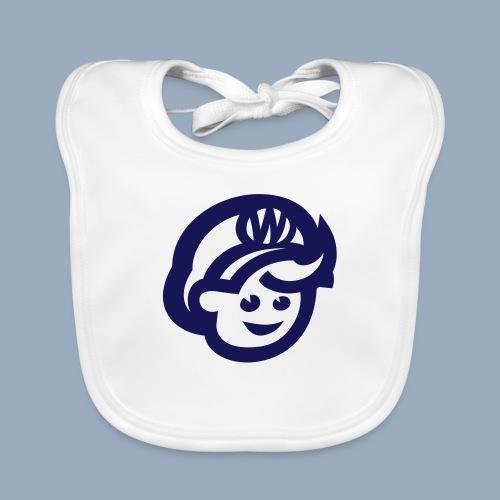 logo bb spreadshirt bb kopfonly - Baby Organic Bib