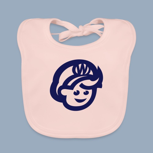 logo bb spreadshirt bb kopfonly - Baby Organic Bib