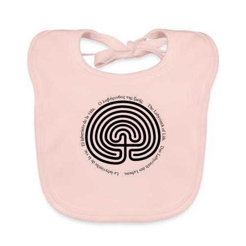 Labyrinth tria - Baby Bio-Lätzchen