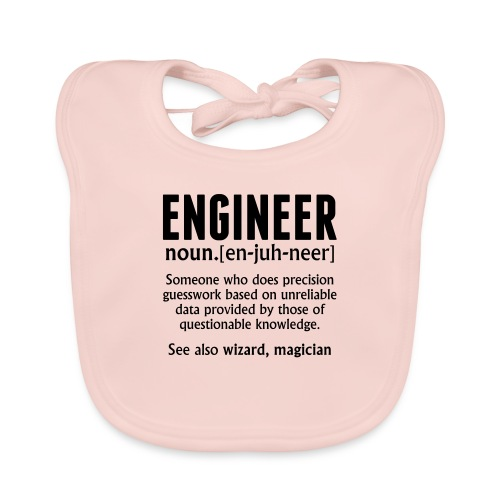 ENGINEER - Baby Organic Bib