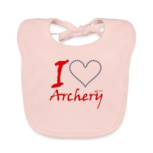 Archery Love - Baby Bio-Lätzchen