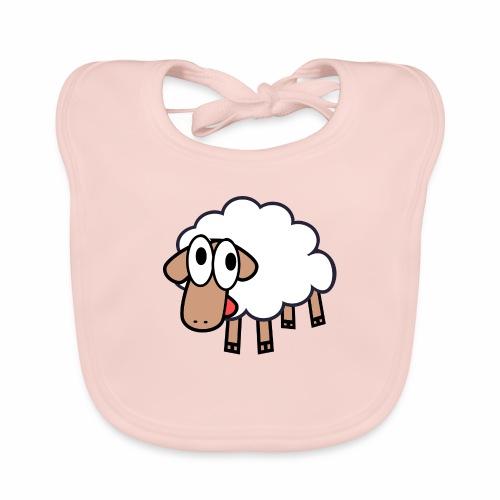 Sheep Cartoon - Bio-slabbetje voor baby's