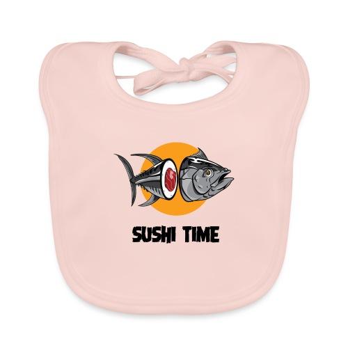 SUSHI TIME-tonno-n - Bavaglino ecologico per neonato