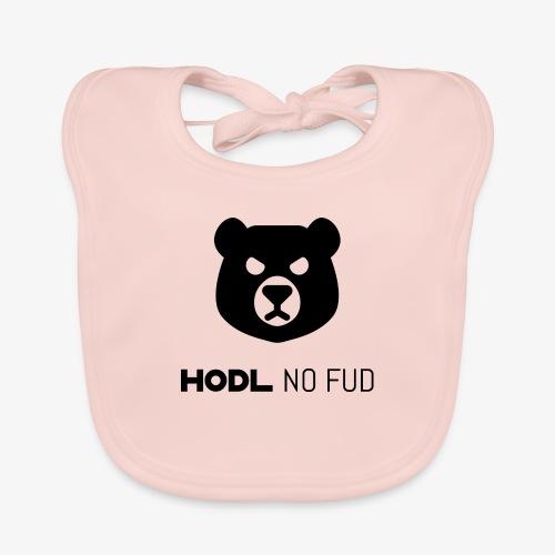 HODL-bearnofud-b - Baby Organic Bib
