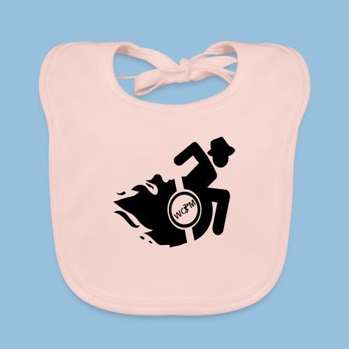 WheelChairmanflames3 - Bio-slabbetje voor baby's