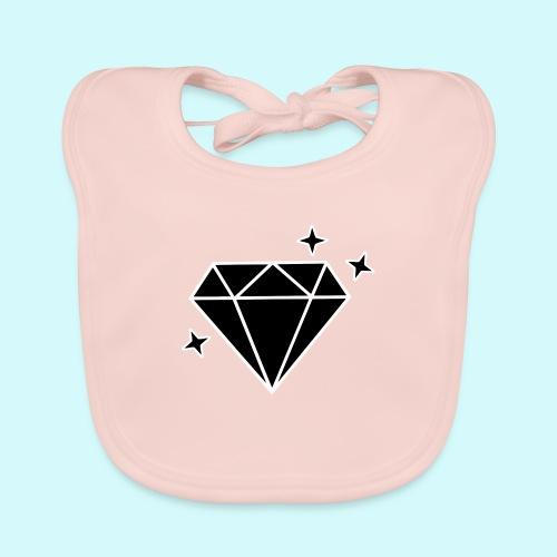 Diamant 2 - Baby Bio-Lätzchen