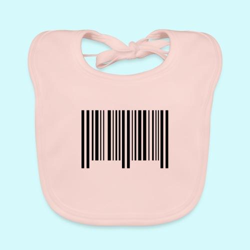 barcode - schwarz - Baby Bio-Lätzchen