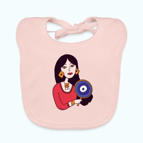 Fashion Girl - Baby Organic Bib