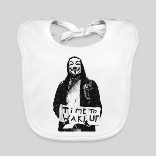 Time to wake up - Bavoir bio Bébé