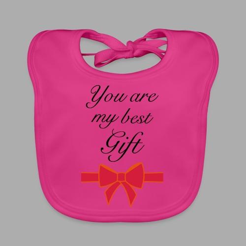 you are my best gift - Baby Organic Bib