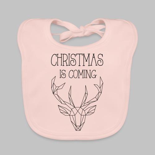Deer Christmas - Organic Baby Bibs