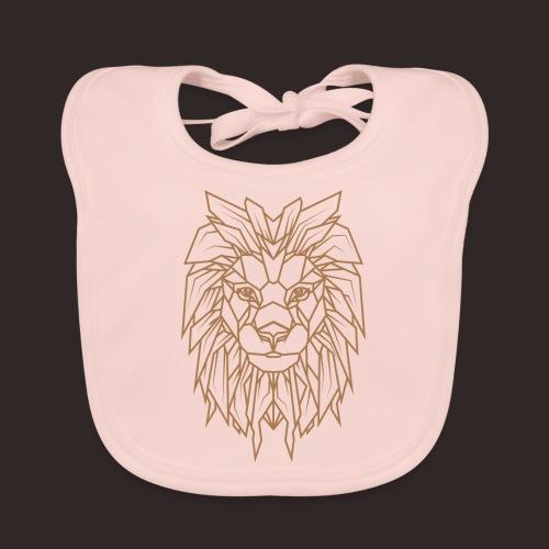 Löwe | Tier Katze Raubkatze Wildtier - Baby Bio-Lätzchen