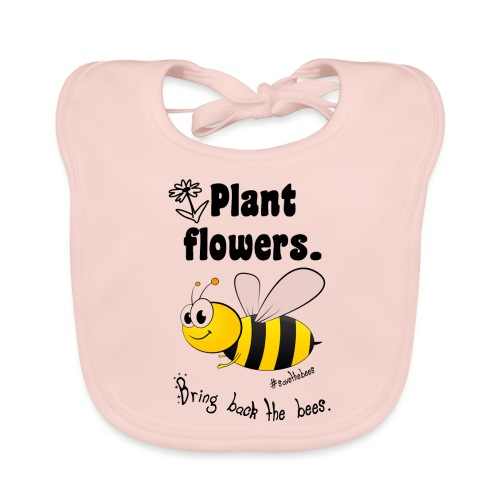 Bees8-2 Bringt die Bienen zurück! | Bookrebels - Baby Organic Bib