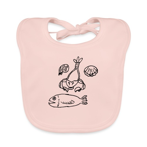 I Sea You - Baby Organic Bib