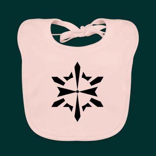 Simbolo Esoterico - Bavaglino ecologico per neonato
