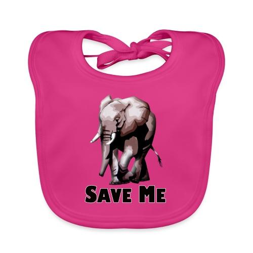 Elefant - SAVE ME - Baby Bio-Lätzchen