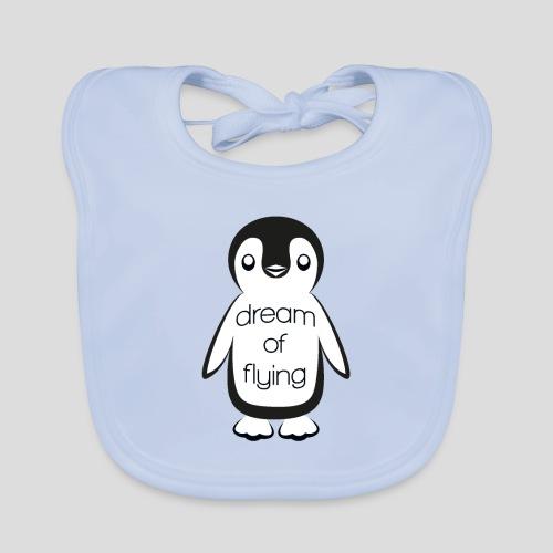 Dream of Flying Pinguin - Baby Organic Bib