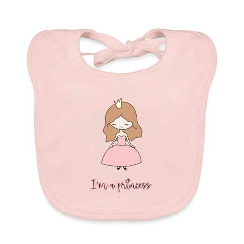 I'm a Princess - Bavaglino ecologico per neonato