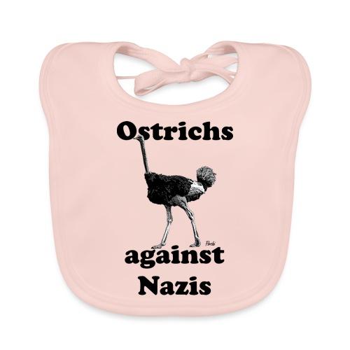 Ostrichsagainstnazis - Baby Bio-Lätzchen