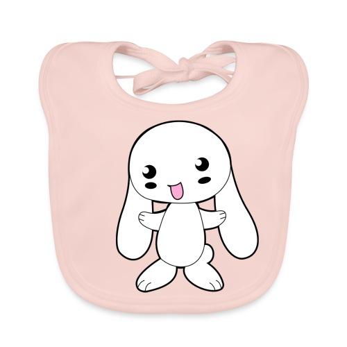 Kaninchen - Baby Bio-Lätzchen