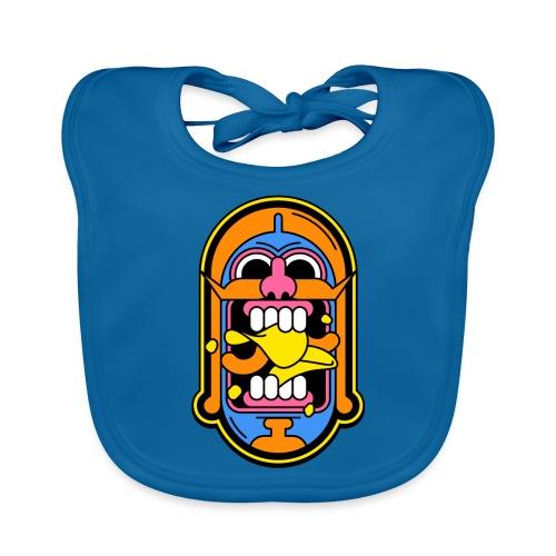 Snackspertti – Historian Sipsien Rapinaa -logo - Vauvan luomuruokalappu